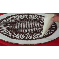 Chocolate Piping Art