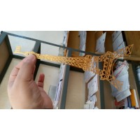Eiffel Tower in Suger Lace Gold