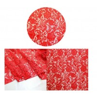 Red Lace Template