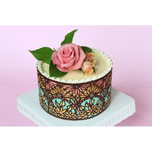 Gallery for Art deco cake decoration