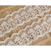 White Lace in Edible Cake Lace