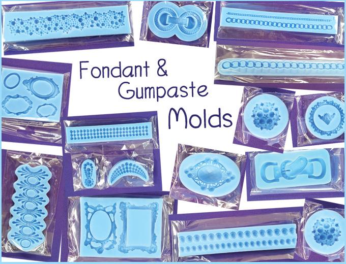 Fondant | Gumpaste | Molds