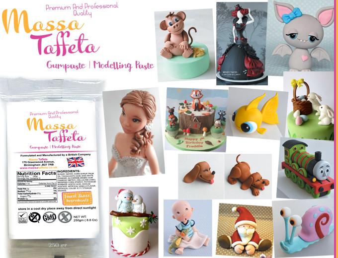 Massa Taffeta - Gum Paste