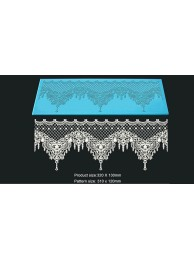 3D HD Cake Lace Mat For Cake Decoration - Xasara Cake Lace