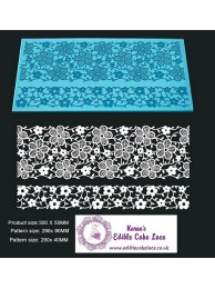 3D HD Cake Lace Mat For Cake Decoration - Daisy Wine Cake Lace Mat