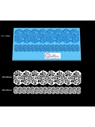 Ribbon Cake Lace Mat For Cake Decoration -  Damask Rose Cake Lace