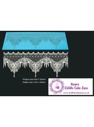 Cake Lace Starter Kit 33 ( Cake Lace Mix or Premix + Spreading Knife + Cake Lace Mats)