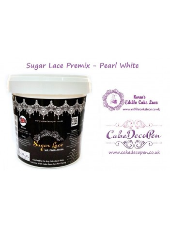 Sugar Lace Premix - 200 Grams - Pearl White