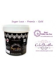 Sugar Lace Premix - 200 Grams - Gold