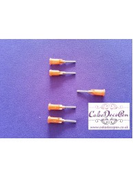 Spare Parts | Metal Tip Orange  |Cake Deco Pen Machine | Dual Action Kit | Deco Pen Kit + Air Brush Kit