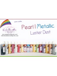 Pearl White   | Glitter | Shimmer | Luster | Dust |100 %Edible | Cake Craft | 4 Grams