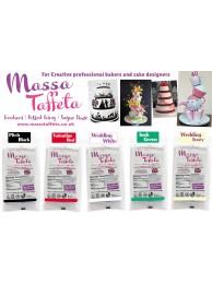 Wedding Ivory | Massa Taffeta | Fondant | Sugarpaste | Ready Rolled Icing | Cake Craft