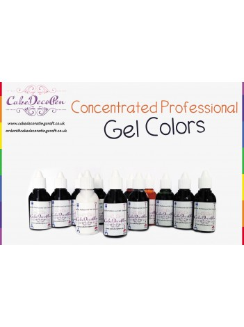 Sunrise Yellow | Gel Food Colors | Concentrated ProGel | Cake Decorating | 20 ML
