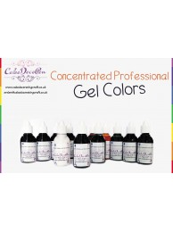Sunset Orange | Gel Food Colors | Concentrated ProGel | Cake Decorating | 20 ML