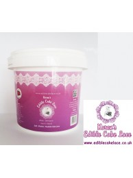 Edible Cake Lace Powder - 2 Part - 200 Grams - White -  Premium Quality