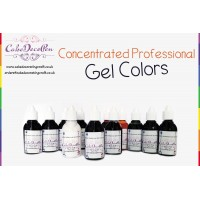 Violet | Gel Food Colors | Concentrated ProGel | Cake Decorating | 20 ML