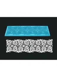 Single Lace Mat For Cake Decoration - Design 5