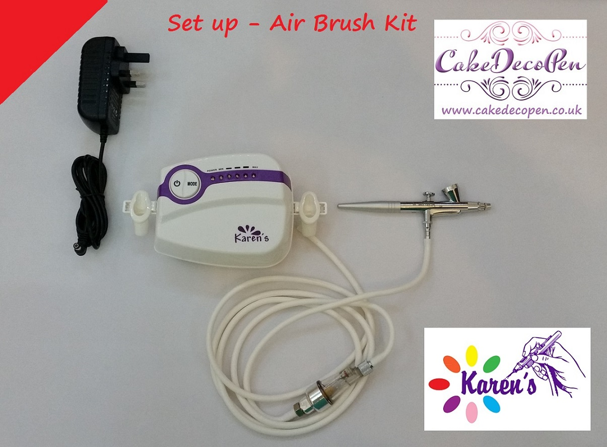 Set up - Air Brush Kit